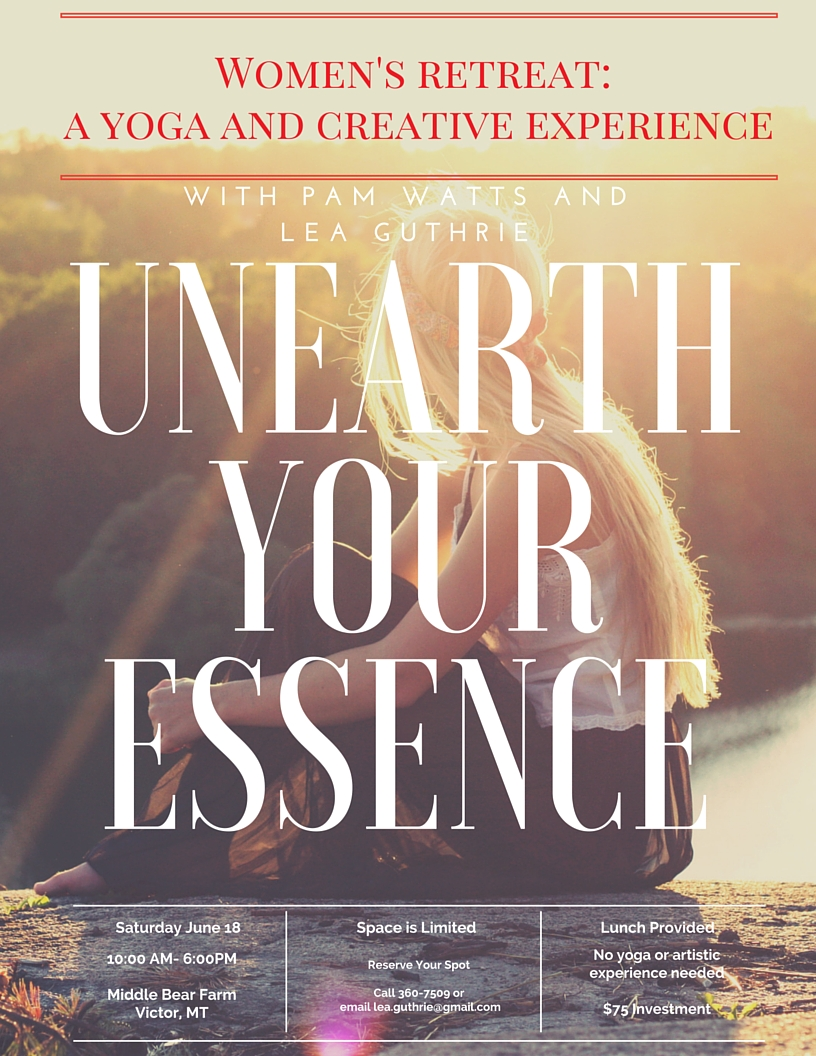 A Yoga and creative experience